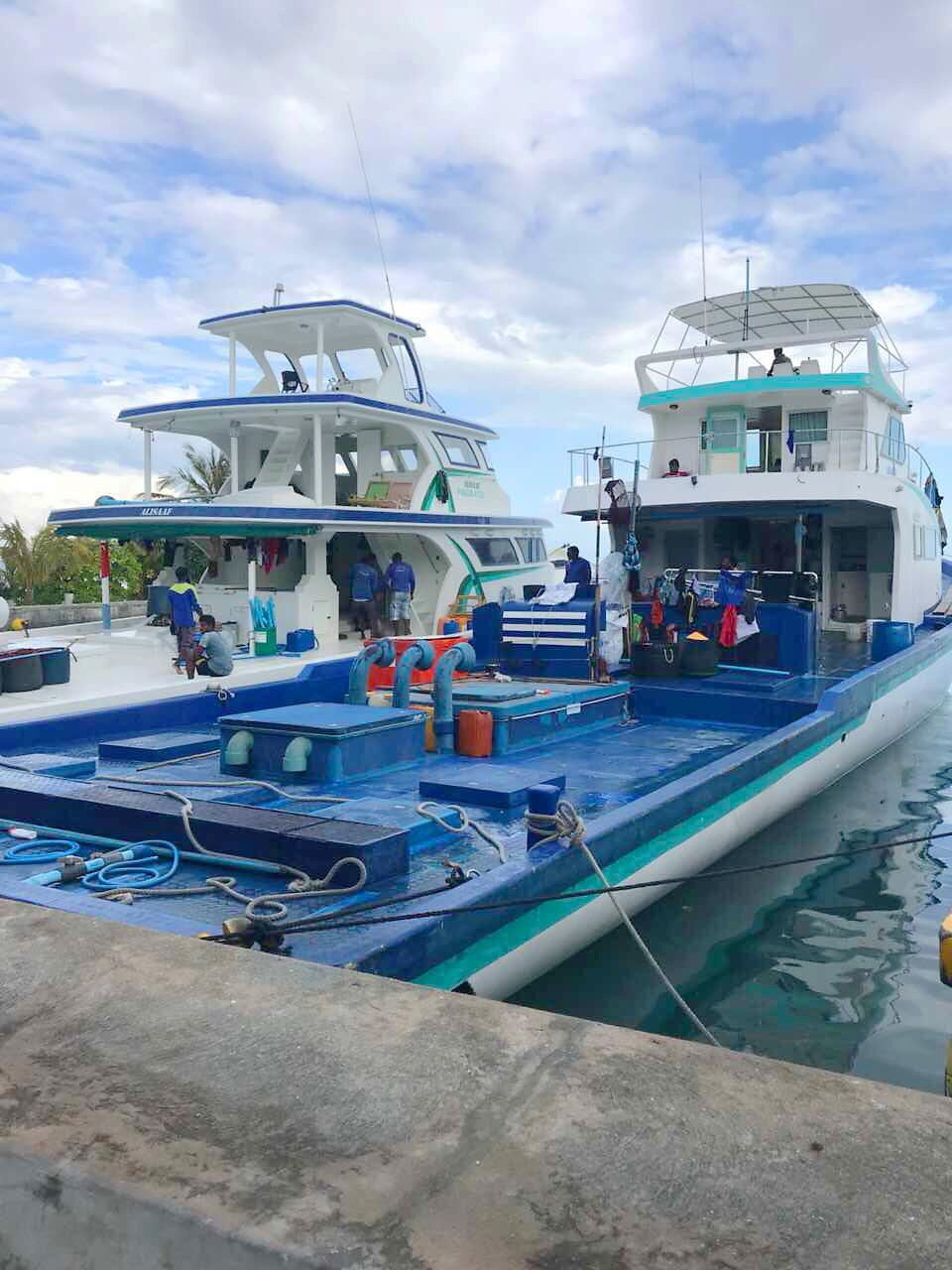 Bateaux de pèche au port