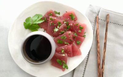 Sashimis de thon