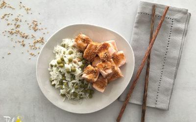Mon saumon cuit en 1 minute